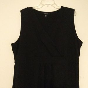 Lands End maxi dress black 2x 20w